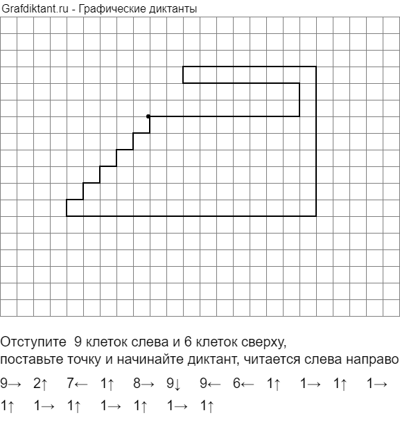 Графический диктант Утюг